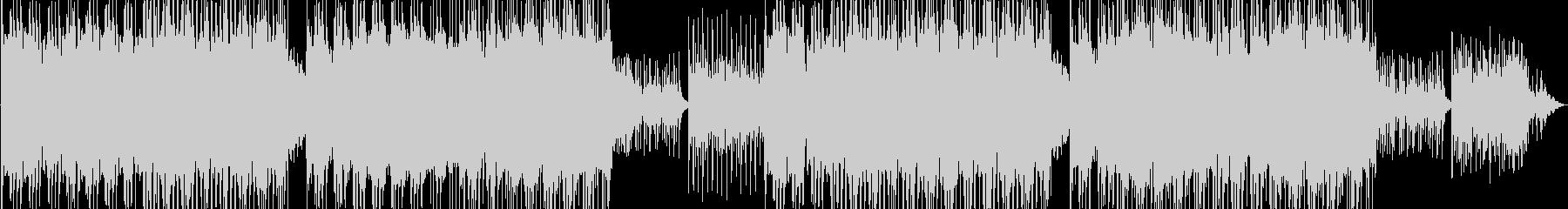 フルートが軽やかに奏でるレトロ風サウンドの未再生の波形
