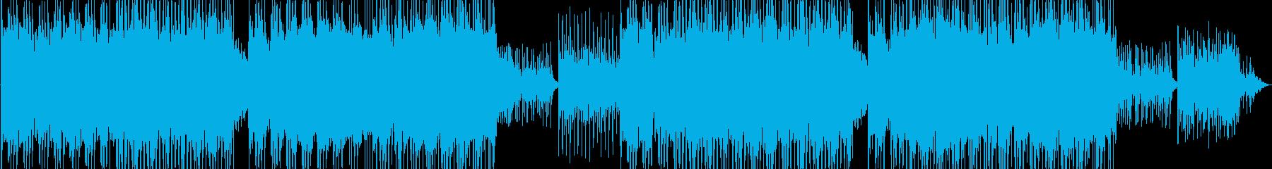 フルートが軽やかに奏でるレトロ風サウンドの再生済みの波形
