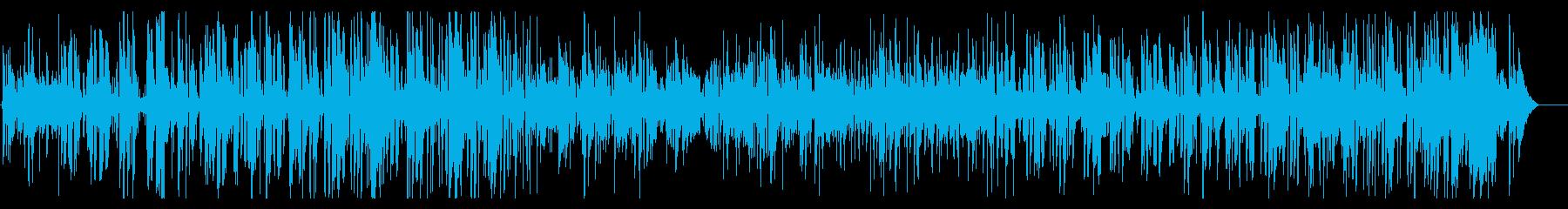 ジングルベル、軽快で楽しいクリスマジャズの再生済みの波形
