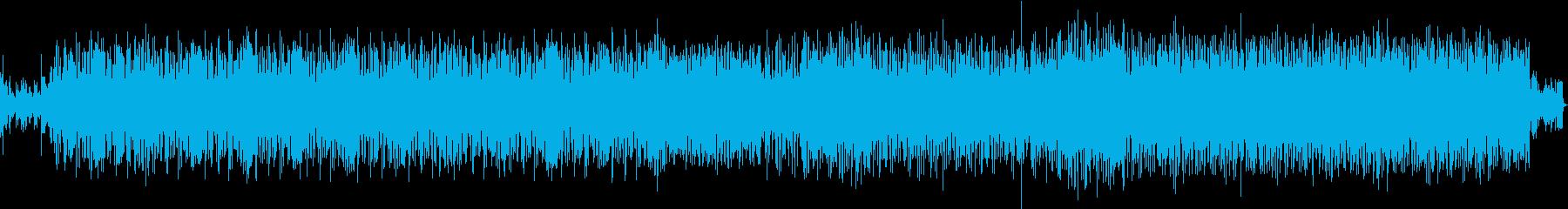 和風なサルサの再生済みの波形