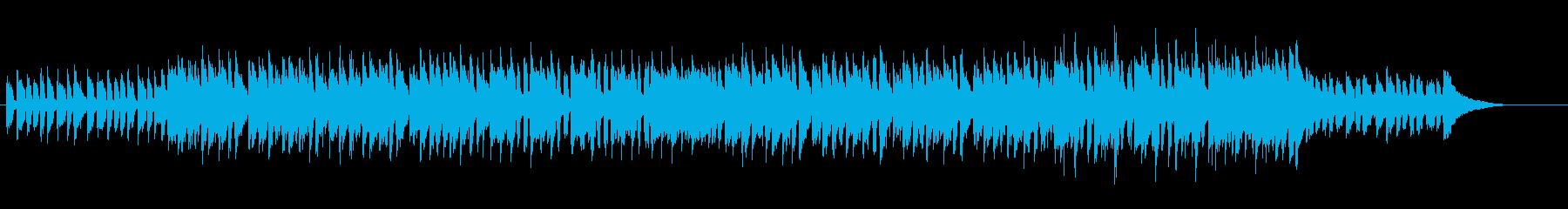 ソフトな音色のスイート・ポップの再生済みの波形