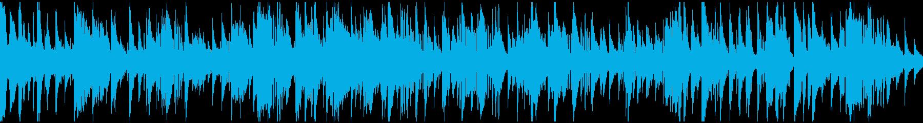 スケベ、セクシーなスロージャズ※ループ版の再生済みの波形