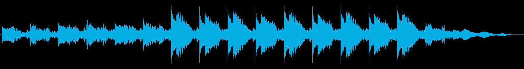劇伴サスペンスフルなミニマルアンビエントの再生済みの波形