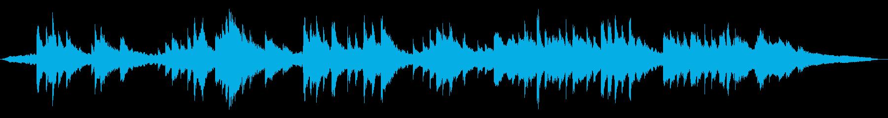 命をイメージした穏やかなピアノソロ60秒の再生済みの波形