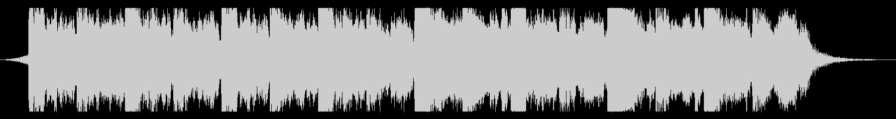 ハリウッド映画予告風シネマティック15cの未再生の波形