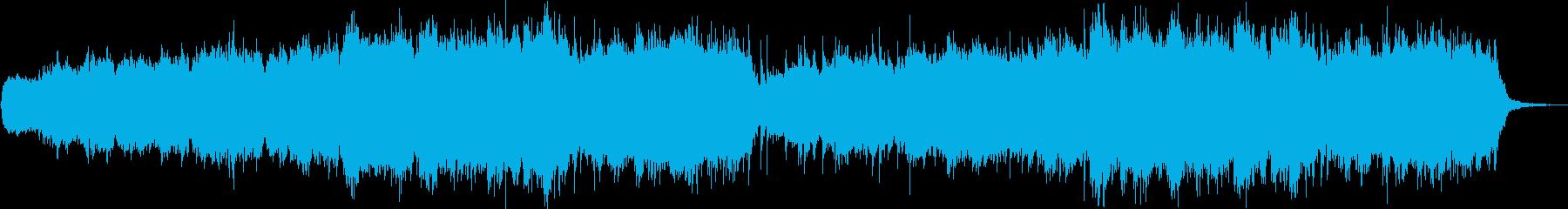 エニグマやアディエマスのような合唱曲の再生済みの波形