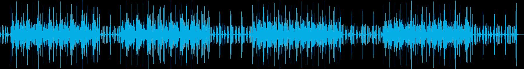 マリンバ ウクレレ 打楽器 ほのぼの日常の再生済みの波形