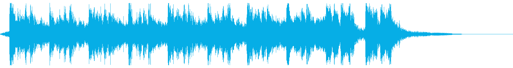 Hollywood eye catch's reproduced waveform