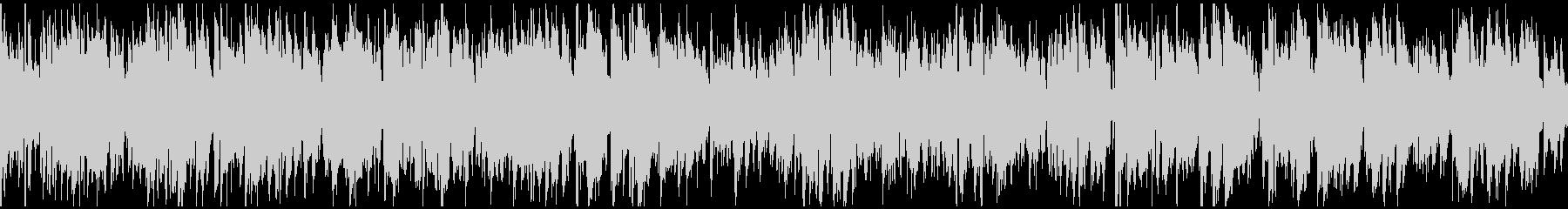 サックス生演奏のほんわかジャズ※ループ版の未再生の波形