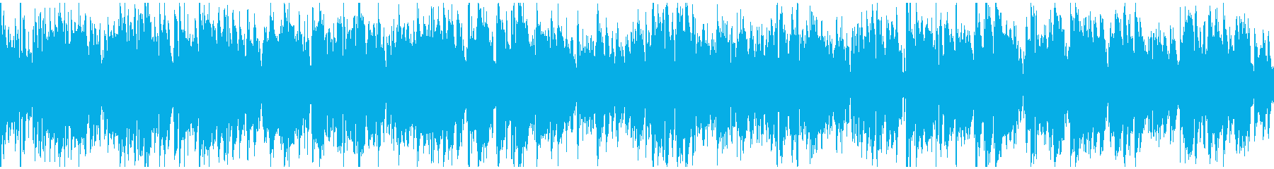サックス生演奏のほんわかジャズ※ループ版の再生済みの波形