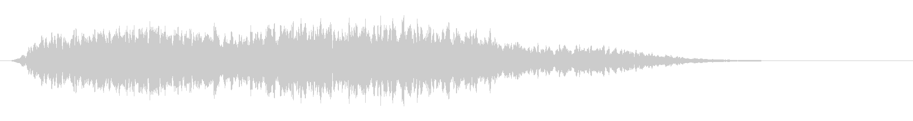 ME心理コード3(浮遊感・アンビエント)の未再生の波形