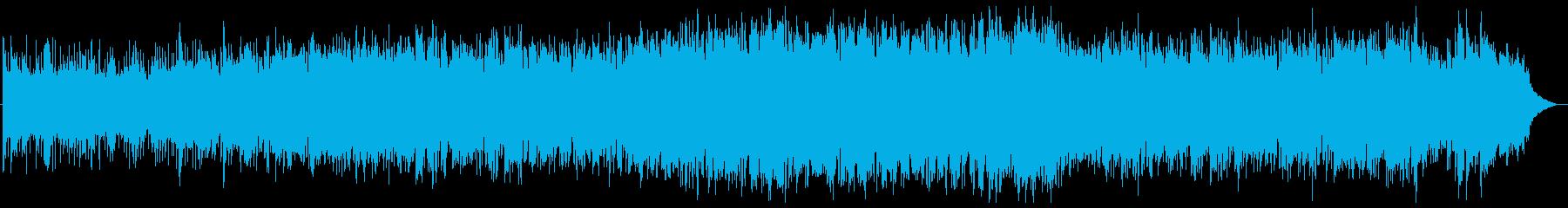 透明感のあるアンビエント/チルアウトの再生済みの波形