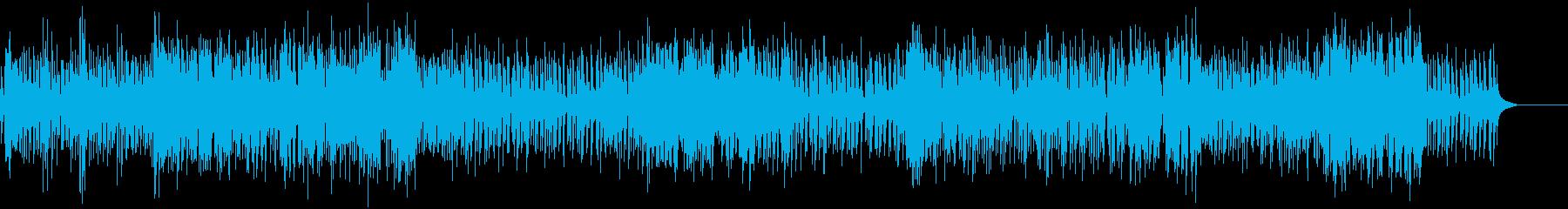 和風賑やか、祝祭=ドラム+ブラス+三味線の再生済みの波形
