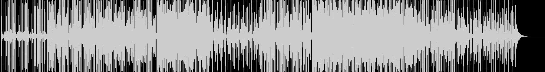 アクティブ-動画-エレクトロダンスハウスの未再生の波形