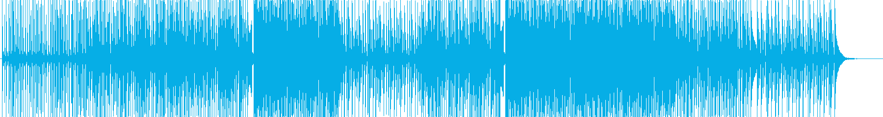 アクティブ-動画-エレクトロダンスハウスの再生済みの波形