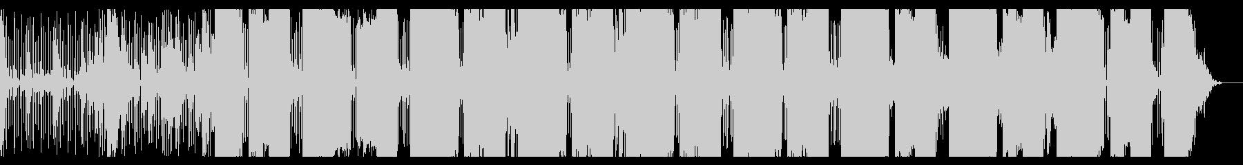 不思議な浮遊感のIDMテクスチャの未再生の波形