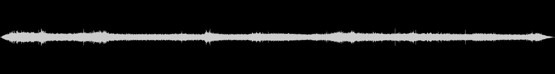 環境音-風 木枯らし 秋~冬の雰囲気の未再生の波形