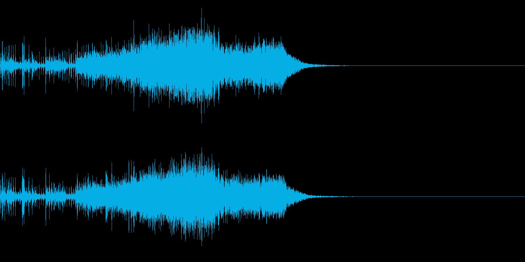 スパーク音-31の再生済みの波形