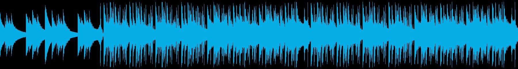 キラキラした都会的なHipHop Popの再生済みの波形