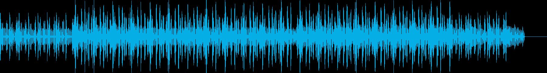 リラックスしたメロウなHIPHOPの再生済みの波形