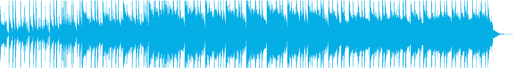 大人の雰囲気のシティファンクBGMの再生済みの波形