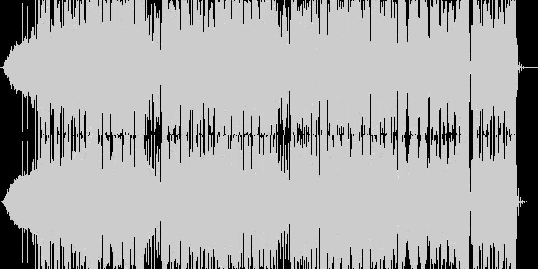 攻撃的なDubstepの未再生の波形