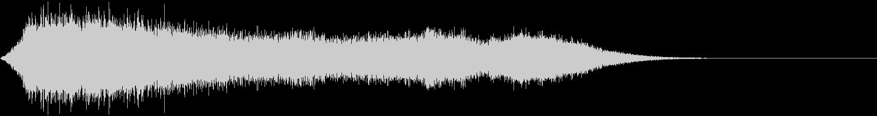 【ホラーゲーム】SFX_22 出現の未再生の波形
