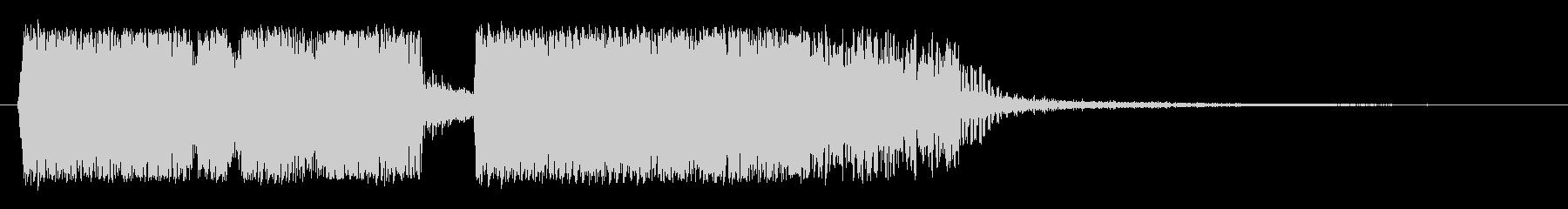 シネマティック コーポレートの未再生の波形