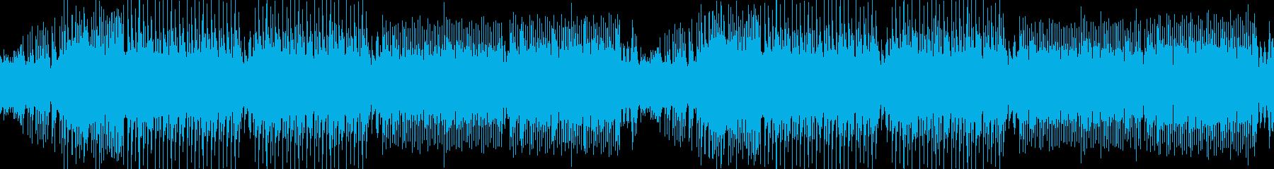 和風・わくわく・三味線・EDMの再生済みの波形