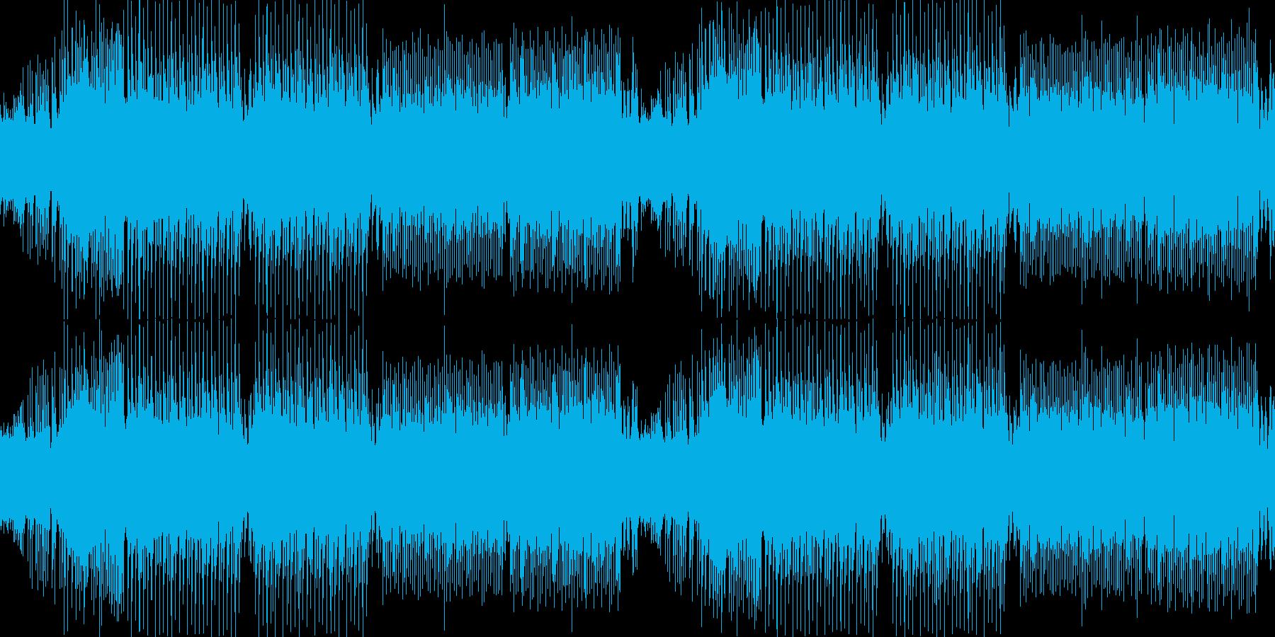 和風・わくわく軽快・楽しい三味線EDMの再生済みの波形
