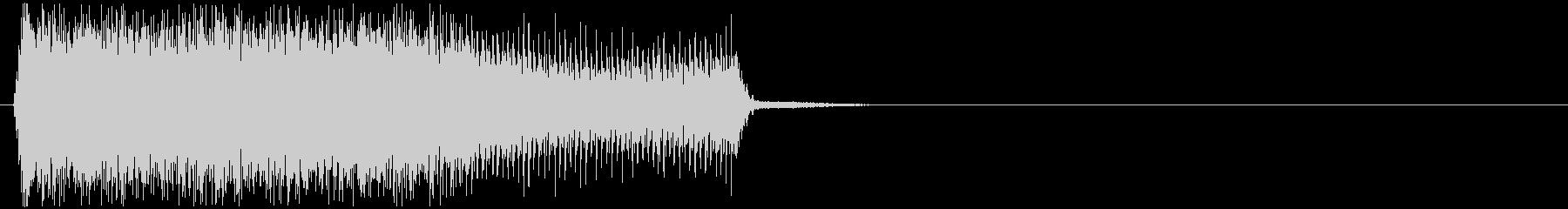 ビリビリ(帯電、静電気、チャージ)の未再生の波形