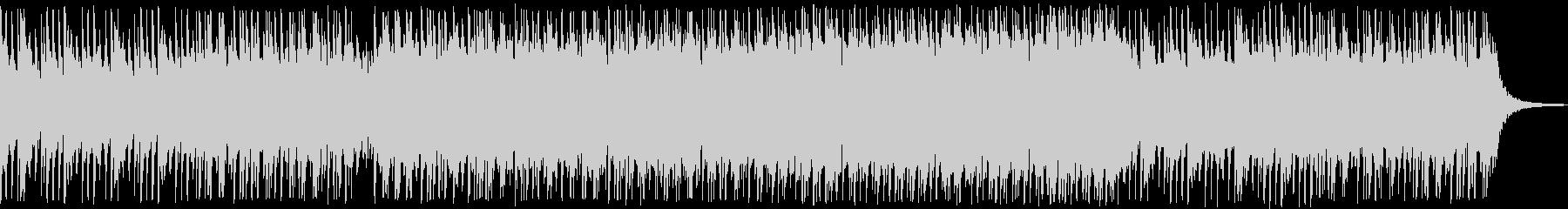 日本的な曲調が印象的なBGMの未再生の波形