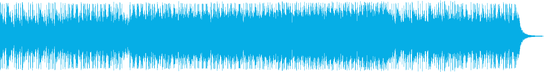 日本的な曲調が印象的なBGMの再生済みの波形