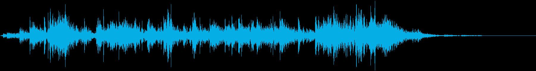 鎖を動かす音9【長い】の再生済みの波形