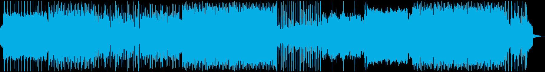 ポップ テクノ ロック 代替案 ア...の再生済みの波形