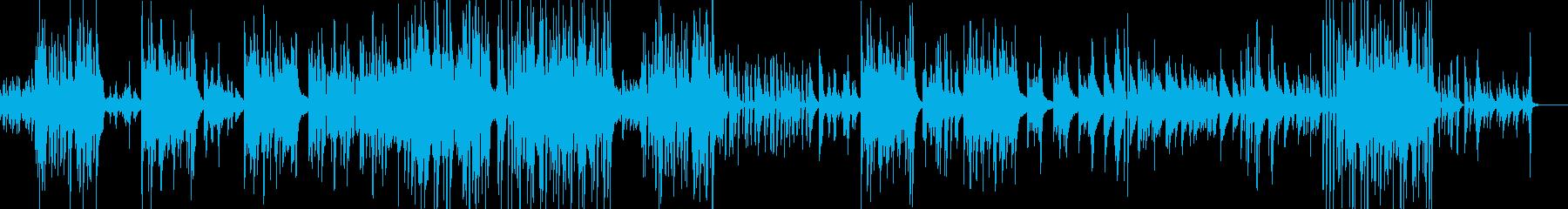 切なく時折明るいピアノソロの再生済みの波形