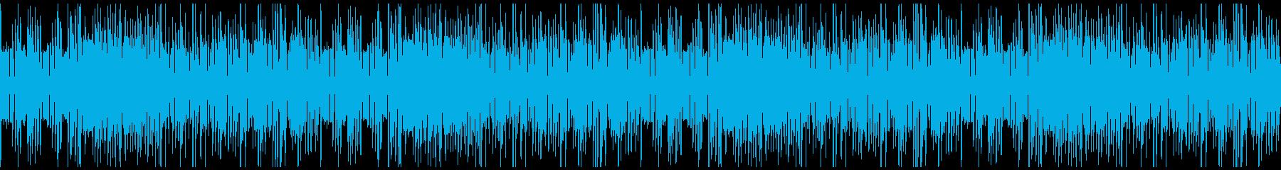 コミカルでほのぼのとしたおとぼけループの再生済みの波形