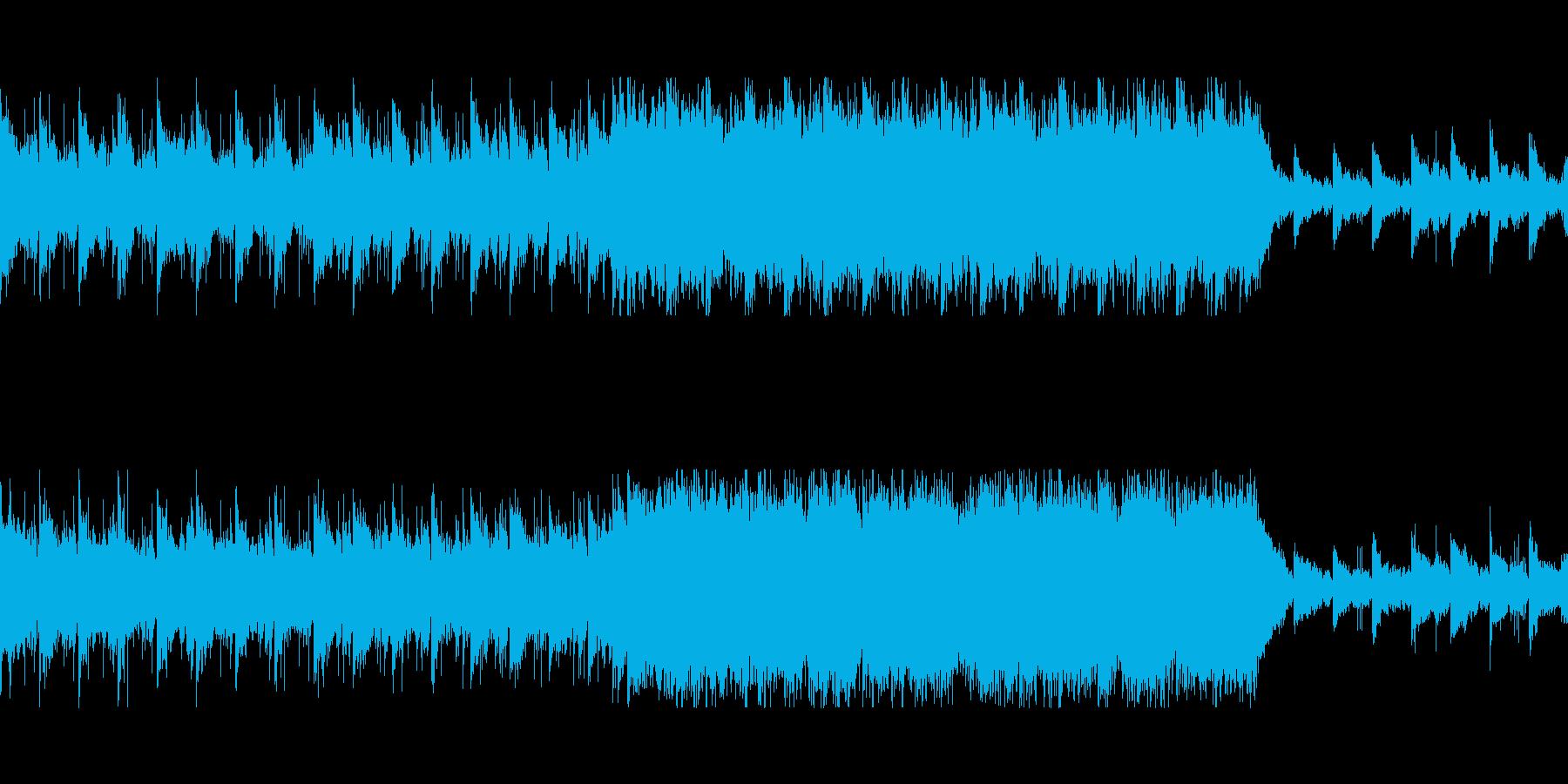 勝利を期待させる壮大オーケストラ/ループの再生済みの波形