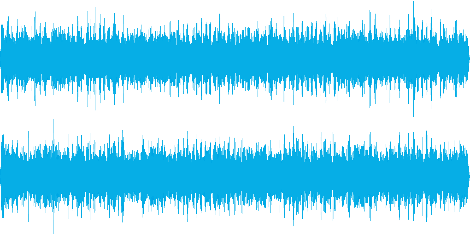睡眠ヒーリング作業瞑想ピアノBGMの再生済みの波形
