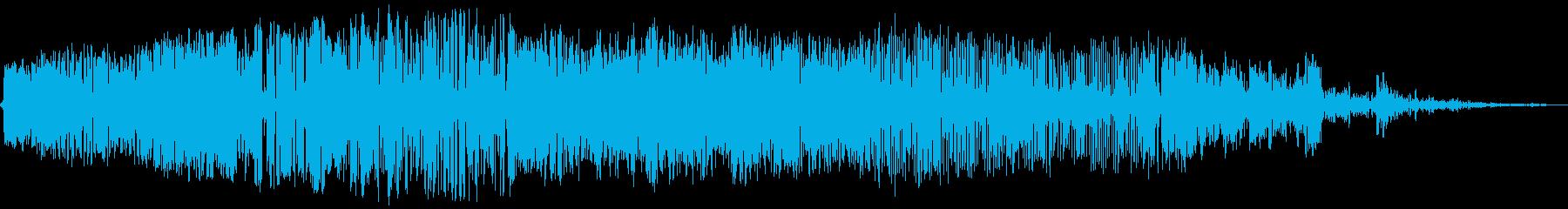ばきゅーんの再生済みの波形