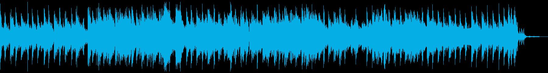 lo-fiな雰囲気のしっとりとしたBGMの再生済みの波形