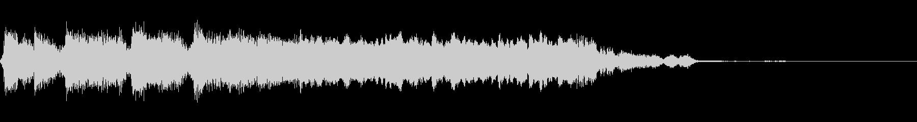 アグレッシブリック3の未再生の波形