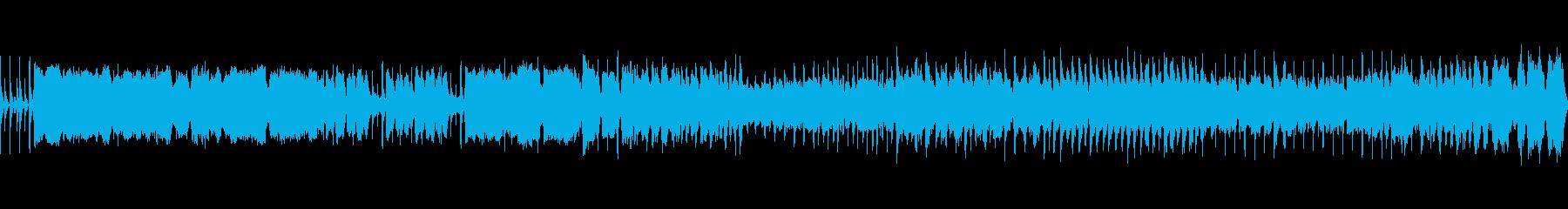 風変わりなレトロなビデオゲーム音楽...の再生済みの波形