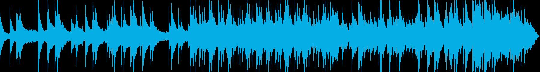 静かで感動的なピアノとチェロのバラードの再生済みの波形