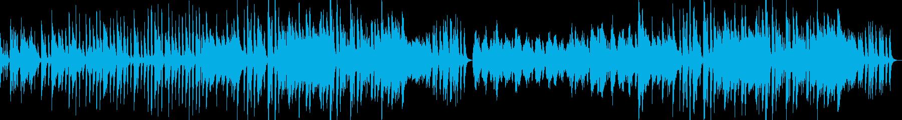 生演奏風少し間抜けでほのぼの可愛い感じの再生済みの波形