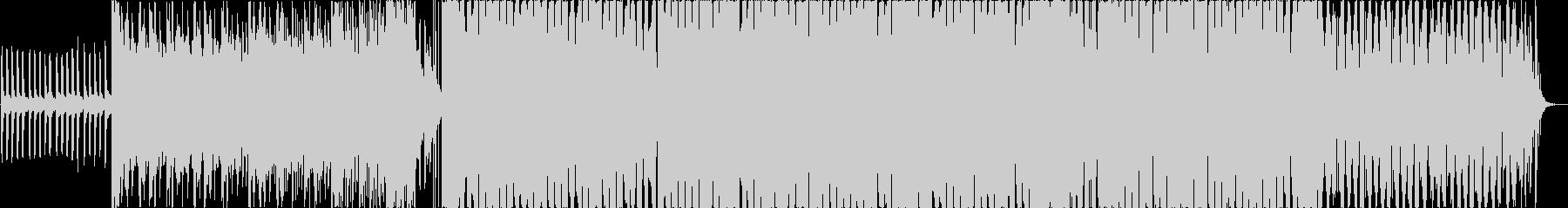 【夏のBGM】お洒落なトロピカルハウスの未再生の波形