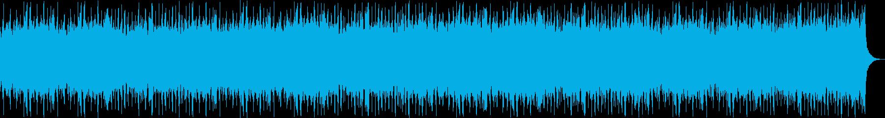 ザダーク ホラーなビート ストリングス曲の再生済みの波形
