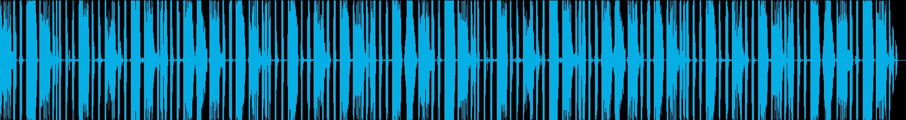 ボイスパーカッション・ビートボックス_3の再生済みの波形