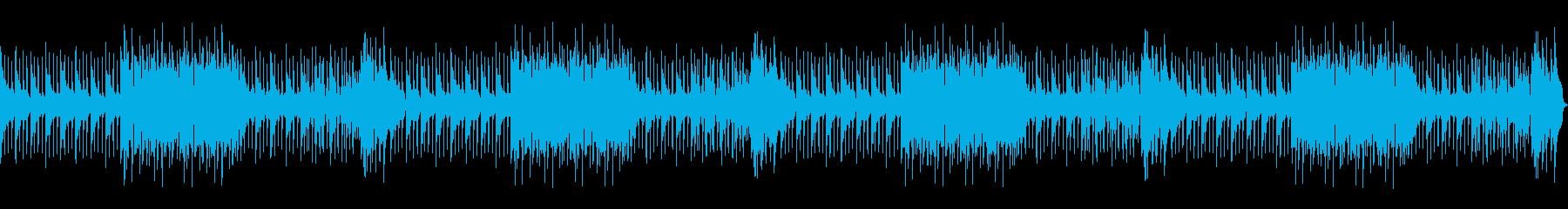 明るくポップで軽快なBGMの再生済みの波形