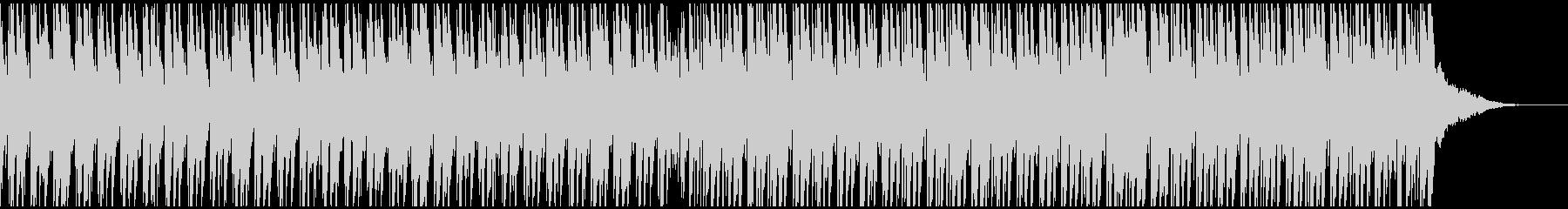サマーファン(ミディアム)の未再生の波形